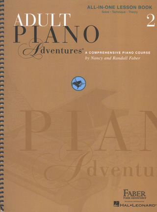 Randall Faber et al.: Adult Piano Adventures: All-In-One Lesson 2