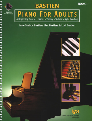 James Bastien et al.: Piano for Adults vol.1