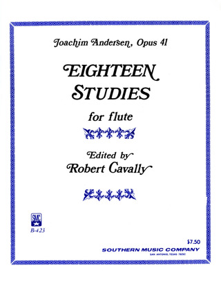 Joachim Andersen: Eighteen Studies op. 41