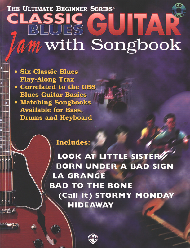 Classic Blues Guitar Jam With Songbook