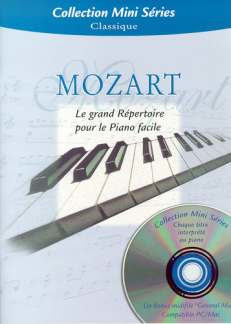 Wolfgang Amadeus Mozart: Mini Series Mozart Le Grand Repertoire Bk/Cd-Rom