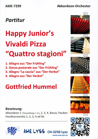 Gottfried Hummel: Happy Junior's Vivaldi Pizza Quattro Stagioni