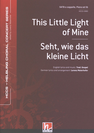 This Little Light of Mine - Seht wie das kleine Licht