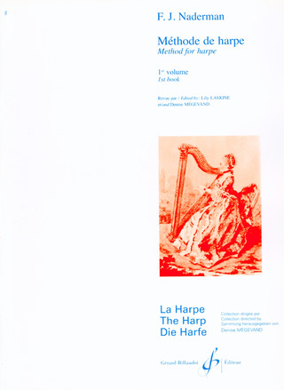 Francois Joseph Naderman: Methode De Harpe 1
