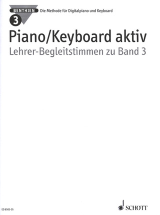 Axel Benthien: Piano/Keyboard aktiv