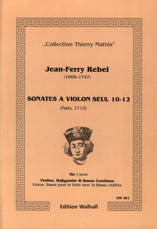 Rebel Jean Ferry: Sonates A Violon Seul 4