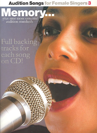 Audition Songs For Female Singers 3 Memory Bk/Cd
