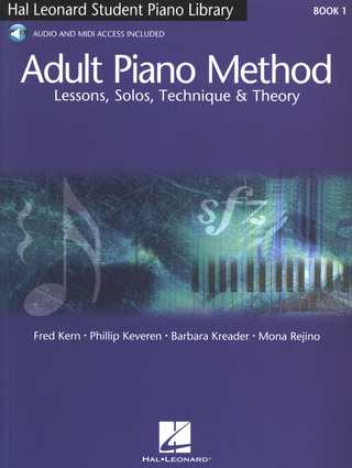 Barbara Kreader y otros.: Adult Piano Method 1