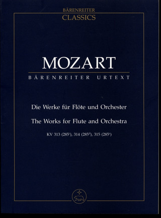 Wolfgang Amadeus Mozart: The Works for Flute and Orchestra