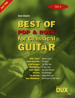 Best of Pop & Rock for Classical Guitar 9