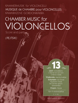 Chamber Music for Violoncellos 13