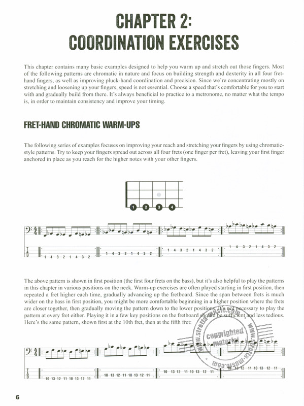 Steve Gorenberg: Warm-Up Exercises For Bass Guitar (1)