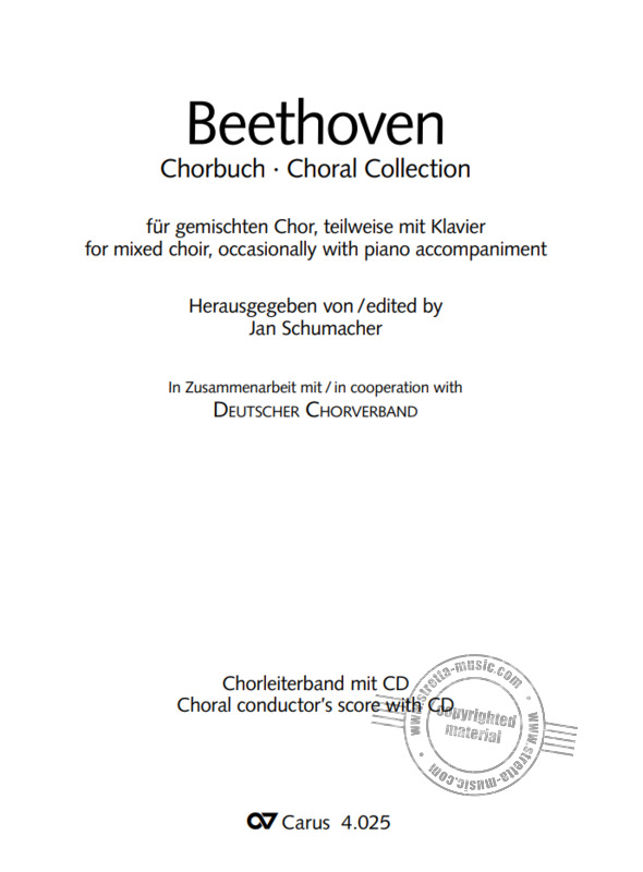 Ludwig van Beethoven: Choral Collection Beethoven (1)