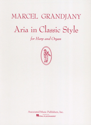 Grandjany Marcel: Aria In Classic Style