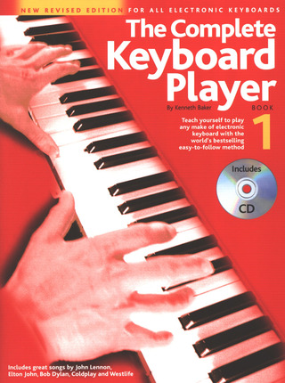 Kenneth Baker: Complete Keyboard Player Book 1 2003 Revised Edition Bk/Cd