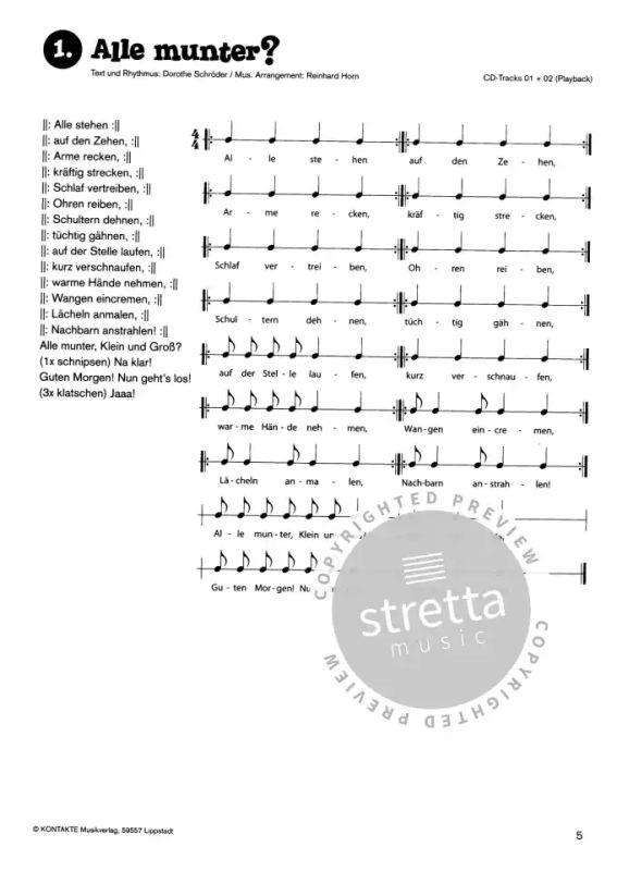 Rhythmix Praktisch Musik 2 Von Dorothe Schröder Im