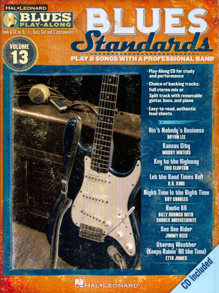 Blues Play-Along Volume 13: Blues Standards
