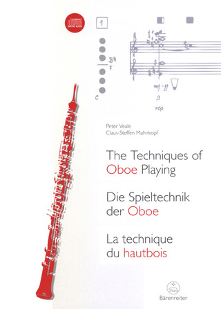 Claus-Steffen Mahnkopf y otros.: The Techniques of Oboe Playing