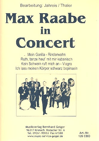 Max Raabe in Concert