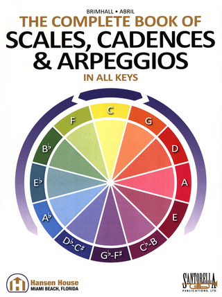 John Brimhall: The Complete Book of Scales, Cadences and Arpeggios in all Keys