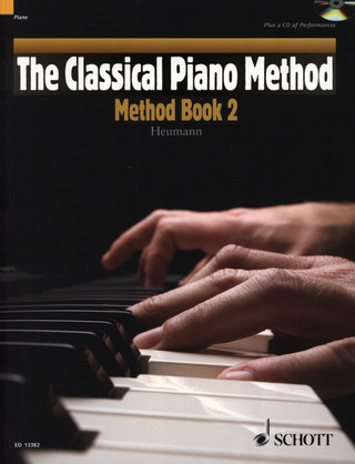 Hans-Günter Heumann: The Classical Piano Method: Method Book 2