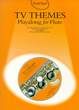 Guest Spot Tv Themes Playalong For Flute Bk/Cd