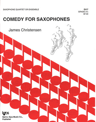Christensen J.: Comedy For Saxophones