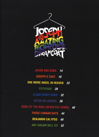 Andrew Lloyd Webber: Joseph and the Amazing Technicolor Dreamcoat