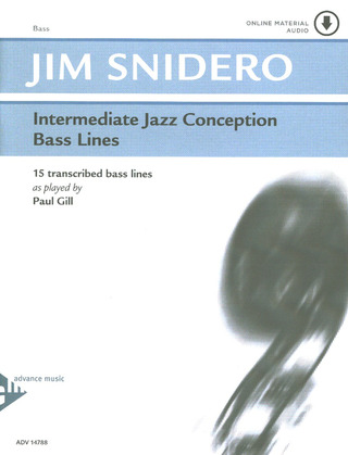 Jim Snidero: Intermediate Jazz Conception – Bass Lines