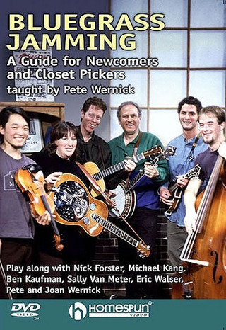 Wernick Pete: Bluegrass Jamming Taught By Pete Wernick Dvd