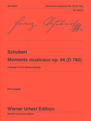 Franz Schubert: Moments musicaux op. 94 (D 780)