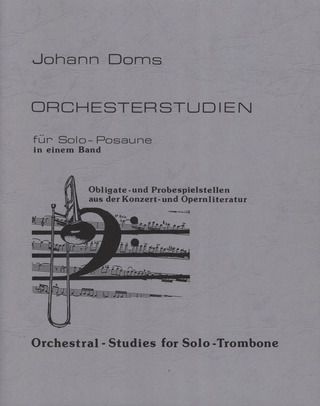 Orchestral-Studies for Solo-Trombone