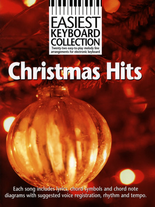 Easiest Keyboard Collection: Christmas Hits Mlc Book