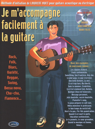 Laurent Huet: Je m'accompagne facilement à la guitare
