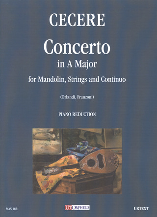Cecere Carlo: Concerto in A maj for Mandolin, Strings and Continuo