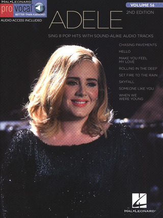Adele Adkins: Adele: Pro Vocal Women's Edition Volume 56