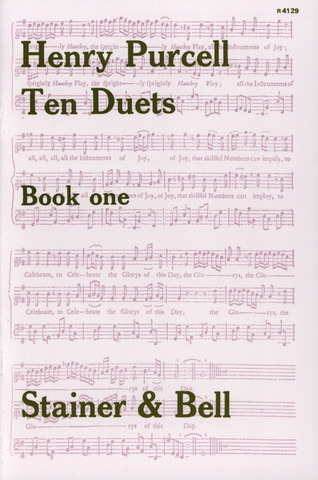 Henry Purcell: Ten Duets 1