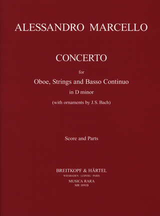 Benedetto Marcello et al.: Concerto in d-moll