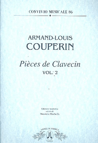 Armand-Louis Couperin: Pieces de Clavecin, vol. 2