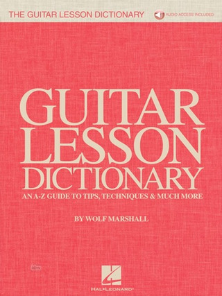 Wolf Marshall: The Guitar Lesson Dictionary