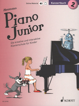 Hans-Günter Heumann: Piano Junior – Konzertbuch 2