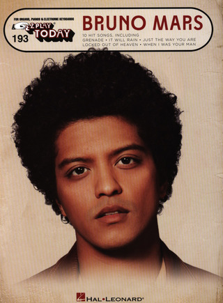 Bruno Mars: E-Z Play Today 193: Bruno Mars