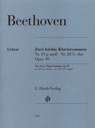 Ludwig van Beethoven: Two Easy Piano Sonatas