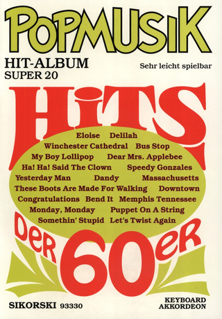 Popmusik Hit-Album Super 20: Hits der 60er