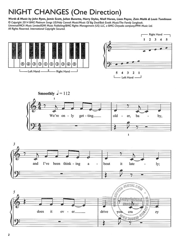 Easiest Keyboard Collection Huge Chart Hits Easy Music Book Adele Take That