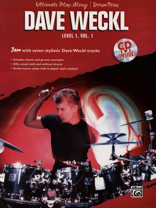 Dave Weckl: Ultimate Play-Along Drum Trax 1