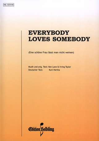 Lane K.: Everybody Loves Somebody