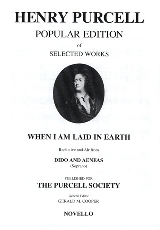 Henry Purcell: Purcell, H When I Am Laid In Earth High Vce/Pf