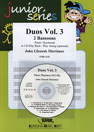 John Glenesk Mortimer: Duos Vol. 3 + CD