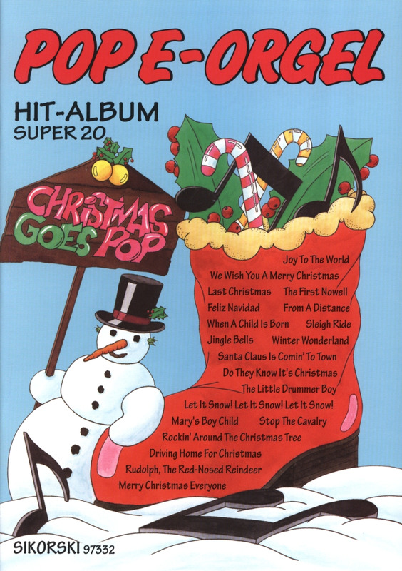 Pop E-Orgel Hit-Album Super 20: Christmas Goes Pop